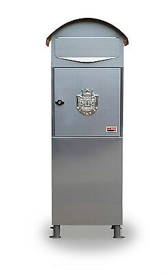 10 METZ Large Stainless steel Letter Box Post Box Mail Box Letterbox  tall box
