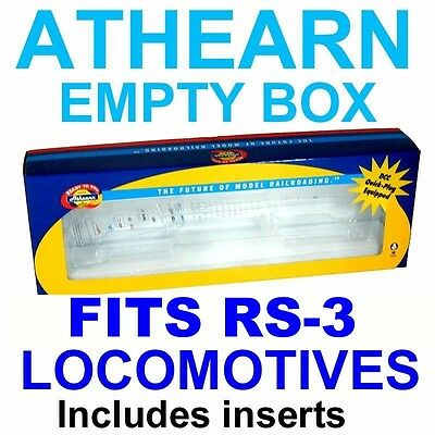 New Style Box Fits Ready To Run Rs3  Athearn Ho Scale