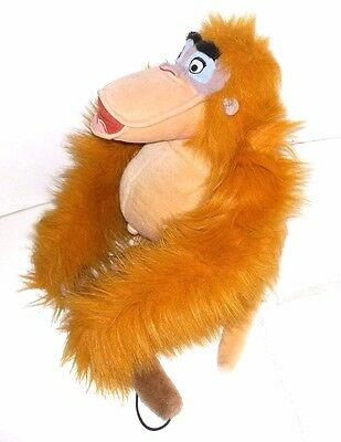 Disney The Jungle Book Hanging King Louie Soft Teddy Plush Toy