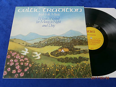 "Lp Celtic Tradition ""i Have Waited For Many A Night And Day""irish Folk Musik *84"