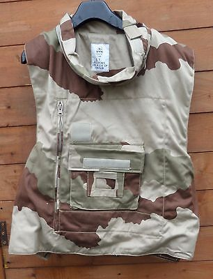 French Army Military Desert Camouflage Camo Flak Jacket Stab Vest.