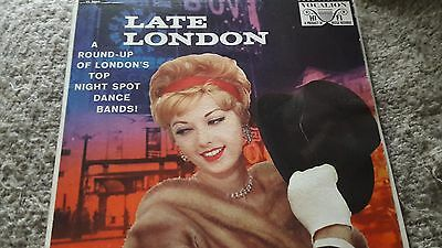Various ‎– Late London Vinyl LP Vocalion VL 3668 US 29/27