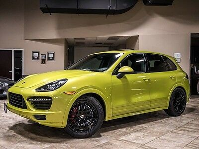 2013 Porsche Cayenne  2013 Porsche Cayenne GTS Peridot Green/Black BOSE Audio Navigation Fully Loaded!
