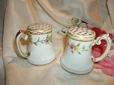 Hand Painted Nippon Salt And Pepper Shackers