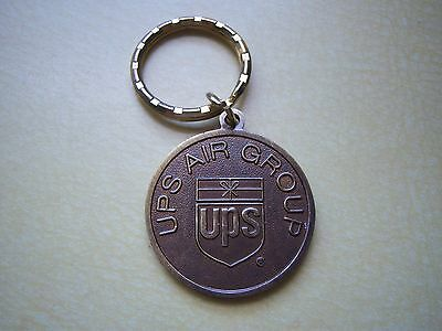 UPS AIR GROUP United Parcel Service Airline 1998 10th Anniversary Keychain