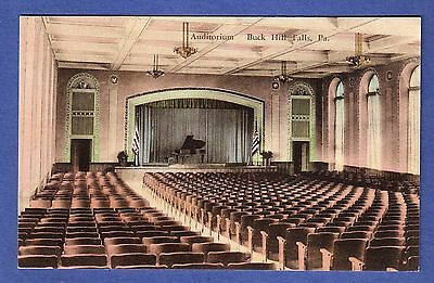Auditorium, Buck Hill Falls, Pennsylvania Postcard