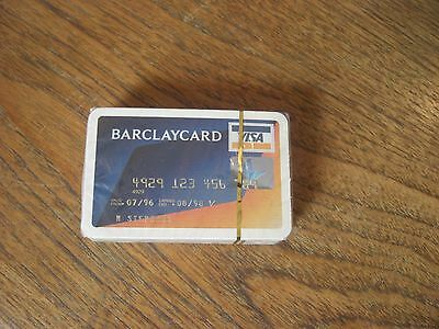 Barclaycard Deck Of Playing Cards Sealed
