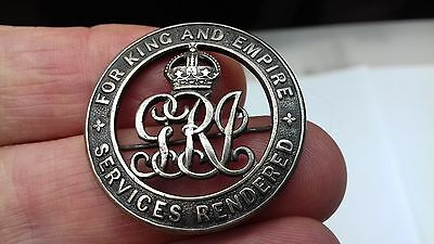 ww1 wound badge or services rendered badge,  108392