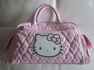Sac à main SHOPPING Hello Kitty rose fille neuf