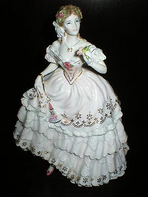 Royal Worcester Figure The Fairest Rose Figurine Compton & Woodhouse Limited Ed