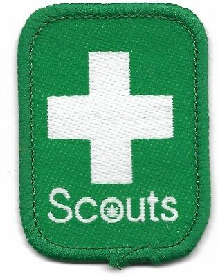 First Aid Scouter Scout Badge