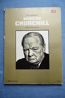 The Unforgettable Winston Churchill; Giant of the Century, By  Editors of LIFE