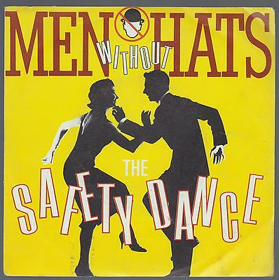 Men Without Hats Disco 45 Giri The Safety Dance - Ita Cgd Int 10476
