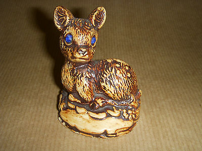Manor Ware Fawn / Deer Pottery 1977