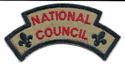Canada National Council Arch  Scout Badge