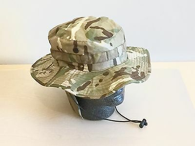 NEW British Army-Issue MTP Bush Hat. Size 57cm.