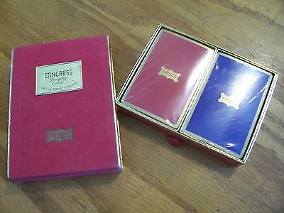 Vintage Frisco Congress brand Railroad Congress Playing Cards, 2 decks unopened