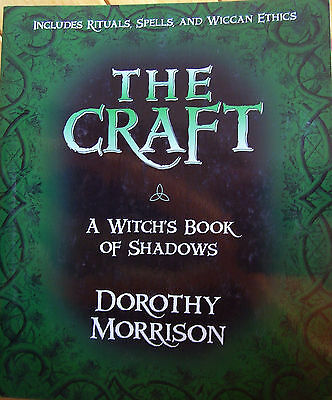 Brand New! The Craft - A Witch's Book Of Shadows Wiccan Rituals & More