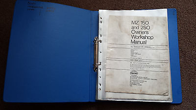 Haynes MZ TS150 & 250 Workshop Manual