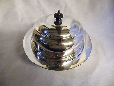 Antique/vintage Silver Plated  Muffin Warmer With Lid - Stamped