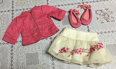 American Girl Doll of the Year Nicki Gala Outfit Skirt Jacket Shoes Set Nikki