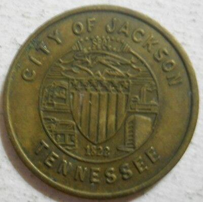 City of Jackson (Tennessee) parking token - TN3375A