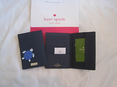 NWT Kate Spade  IMOGENE UNDER THE SEA TURTLE Passport Wallet 7 CC SLOTS NEW