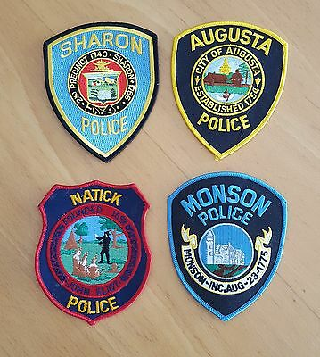 USA - 4 x Different Police Patches - 07