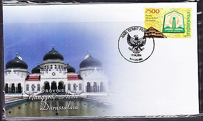Indonesia 2008 - Provinces - Nanggroe Aceh Darussalam  First Day Cover