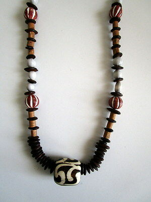 Vintage African bead Necklace