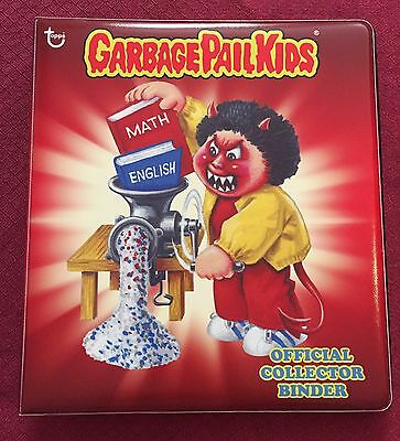 Garbage Pail Kids Topps.com Official Collector Binder Cranky Frankie / Bad Brad