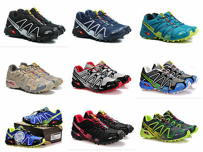NEW 25 styles Men's Salomon Speedcross 3 Athletic Running Hiking Sneakers Shoes