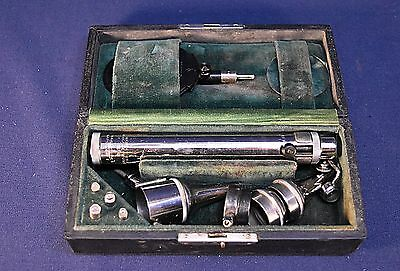 Antique Wappler Electronics New York May Ophtalmoscope / Otoscope - Works