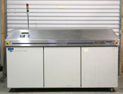 Speedline ACCEL MicroLine In-Line Component Cleaning System/Parts Washer