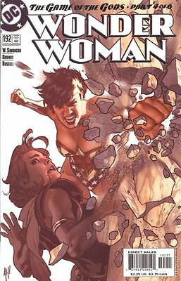 Wonder Woman 192 VF Adam Hughes Walter Simonson Jerry Ordway Game of the Gods