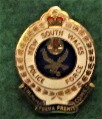 NEW SOUTH WALES POLICE FORCE Small SOUVENIR PIN