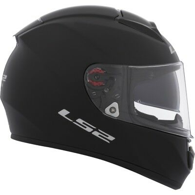 Solid LS2 Vector FF397 Full-Face Helmet  Part# 397-6012 S