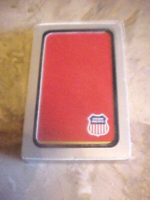 Vintage Union Pacific Railroad Playing Cards Sealed Single Deck Red Usa