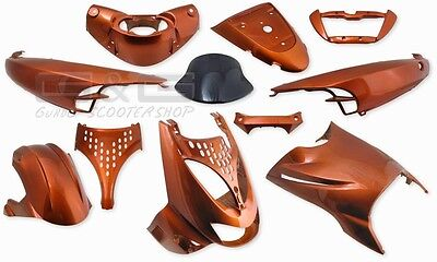 Fairing Kit 11 Fairing parts in Orange Aprilia SR SR50 SR125