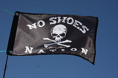 Kenny Fans No shoes ... Boat Flag Free Shipping Chesney happy hour Pirate