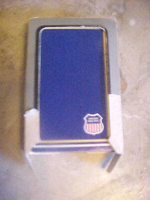 Vintage Union Pacific Railroad Playing Cards Opened Single Deck Blue Usa