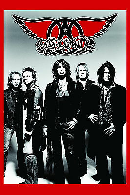 ROCK: Aerosmith Group Photo Poster