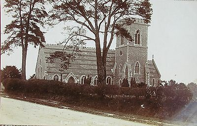 IVER HEATH CHURCH BUCKINGHAMSHIRE c1905 RP PC