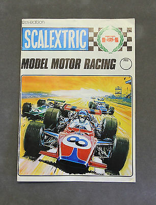 Vintage SCALEXTRIC Model Motor Racing 12th Edition Catalogue (1971)