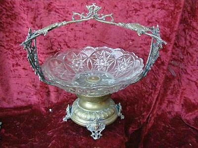 Stunning Antique Victorian Comport Taza Friut Bowl Table Centrepiece Tableware