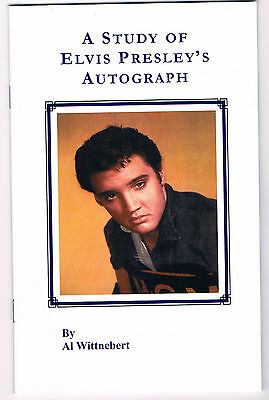The Study of Elvis Presley's Autograph