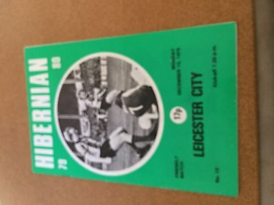 1979 Friendly Hibernian v Leicester City (George Best Played)