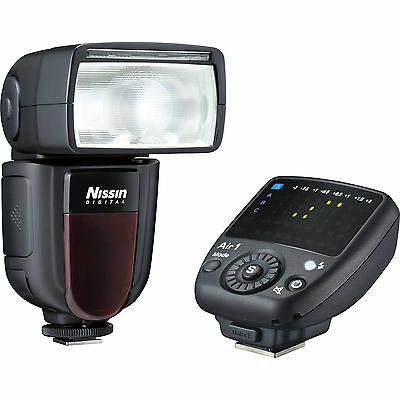 Flash Nissin Digital Di700A + Commander Air 1 Wireless para Nikon (i-TTL)
