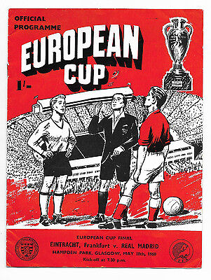 1960 European Cup Final - REAL MADRID v. EINTRACHT FRANKFURT