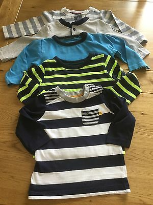 Boys long sleeved tops age 6-9 months